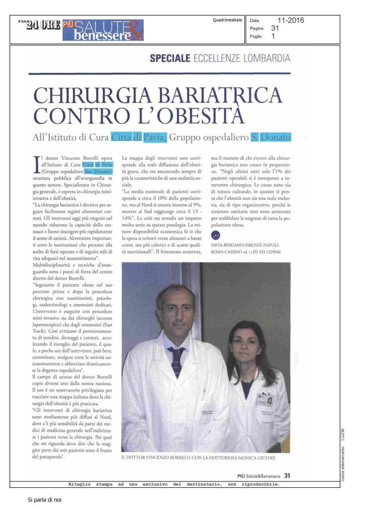 Rassegna Stampa Vincenzo Borrelli